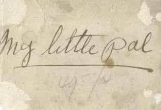 Chapter 11 - My Little Pal - reverse of Doris 1916