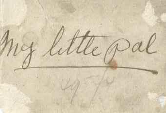 Chapter 11 - My Little Pal - reverse of Doris 1916