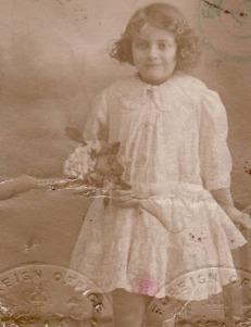 Doris passport, 1918