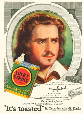 douglas fairbanks lucky strike