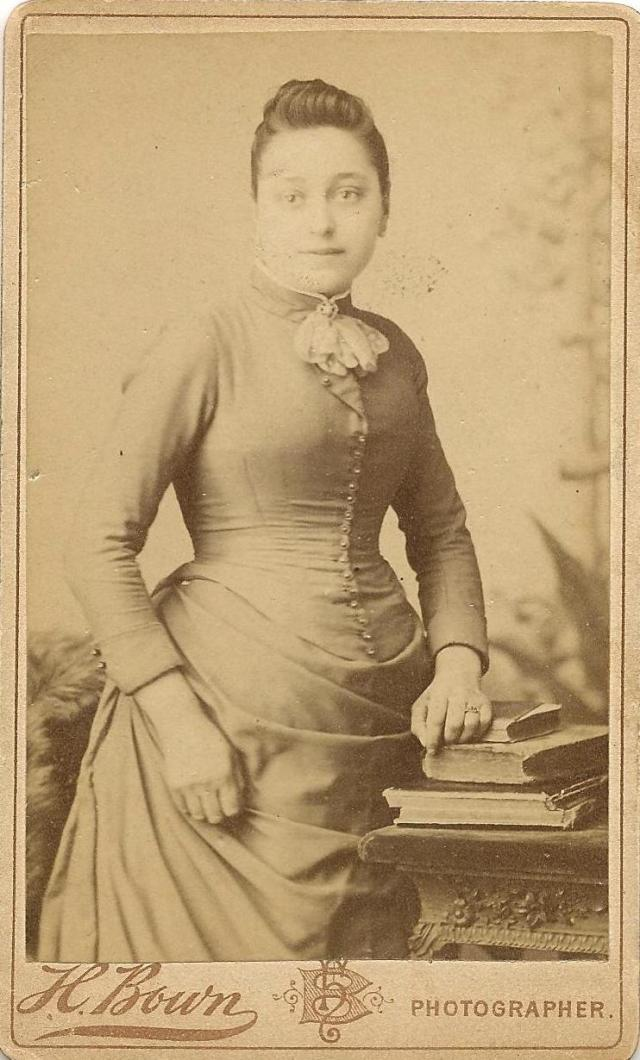 Chapter 3 - Mary Anne Evans, circa 1893, around the time of her engagement to Harry Deverill
