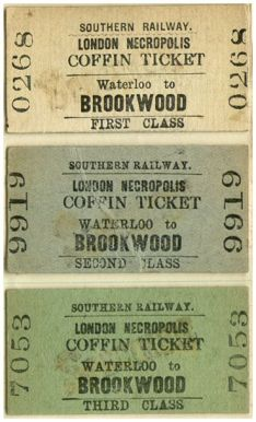 coffin ticket