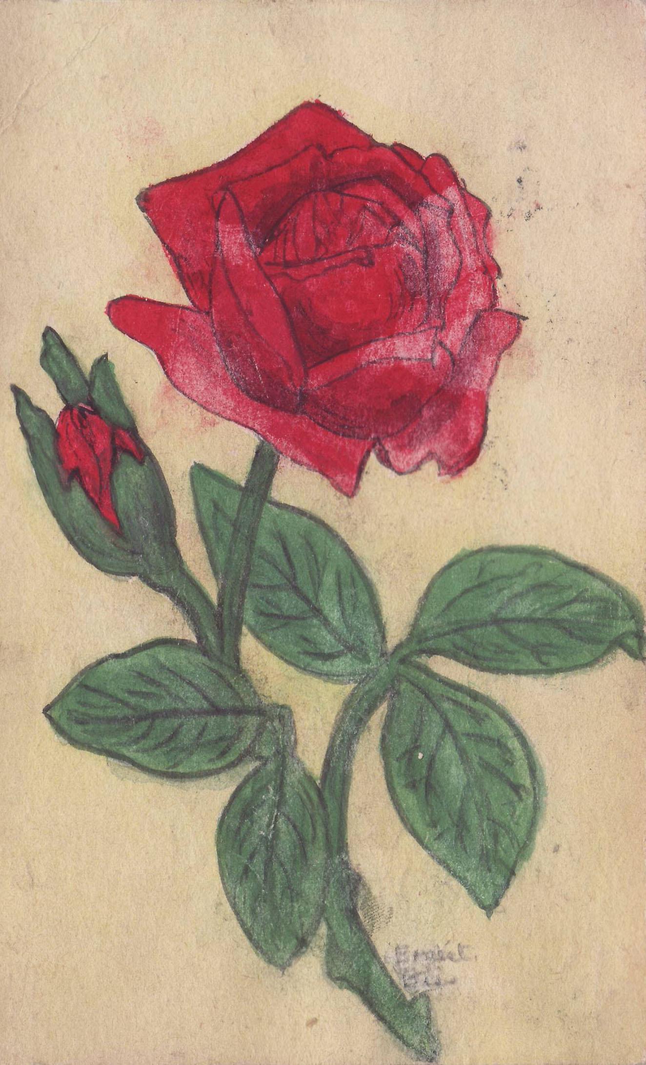 Ernest Biss postcard