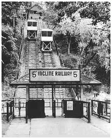 Incline Railway courtesy Elgin County Railway museum