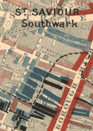 st-saviour-southwark-crop-depicted-in-charles-booth-poverty-map-sheet-9-public-domaine