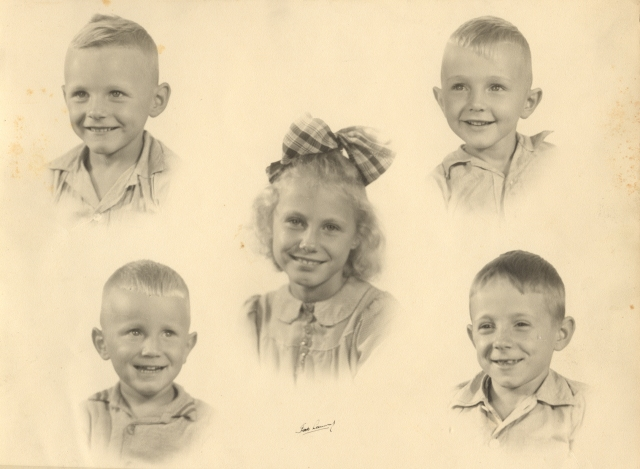 1946-den-hartog-children