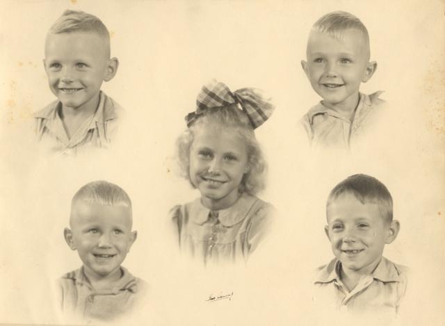 1946-den-hartog-children