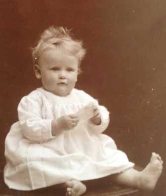 Audrey Kathleen, born in 1918