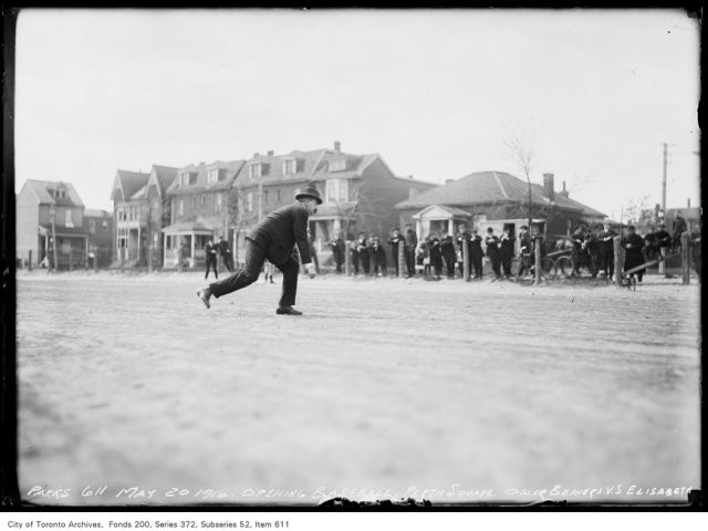 Perth Avenue Square — Opening Baseball Game Osler Beavers vs. Elizabeth